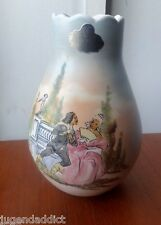 RARE LE BERTETTI TORINO ART POTTER VASE ITALY ANTIQUE ERA LENCI ESSEVI