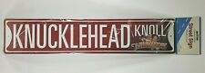 "Three Stooges ""Knucklehead Knoll"" Street Sign 5 x 24 Metal Plaque Sign Decor NEW"