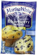 Martha White Blueberry Flavored Muffin Mix, 7-Ounce (Pack of 12)