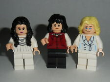 T.V. Lego Classic 70's CHARLIE'S ANGELS Sabrina, Jill , Kelly Genuine Lego Parts