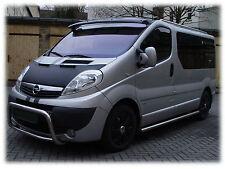 Opel Vivaro 2001-2014 CUSTOM CAR HOOD BONNET BRA NOSE FRONT MASK BRA DE CAPOT