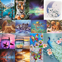 Animal 5D Diamond Painting Embroidery Cross Crafts Stitch Kit Home Decor DIY Art