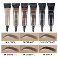 Eyebrow Gel Waterproof Long Lasting Tattoo Brush Kit Eye Tint Brow MakeUp Pick