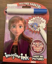 NEW Imagine Ink Disney Frozen II  Magic Marker and Activity Book