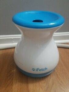 Dogs Fetching iFetch Best Frenzy Mini Ball Launcher Automatic Ball Thrower