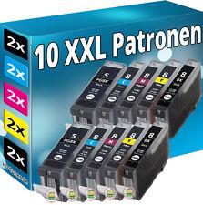 10x TINTE PATRONEN für CANON MP500 MP510 MP520 MP530 MP610 MP810 MP830 IP5300