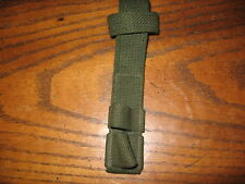 Green web british enfield bayonet frog military