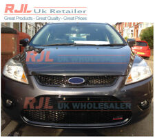 SET OF FACTORY GLOSS BLACK FOCUS ST RS STYLE GRILLES & FOG SURROUNDS