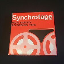 "Synchrotape High fidelity Recording Tape 5 3/4"" Long Play 1,200' British Made"