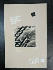 Vintage Atari DOS3 Disk Operating System Reference Manual Only