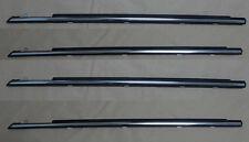 Genuine Weatherstrip Window Glass Door Belt Rubber set for 88-91 Honda Civic 4D