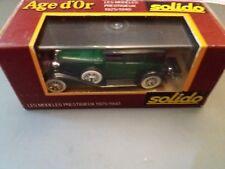 MODELLINO AUTO AGE D'OR SOLIDO 1/43 NUOVO CORD L 29 55
