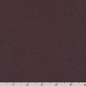 By Yard-Dana Cotton Modal Solid Knit Robert Kaufman Fabric Dark Plum Purple