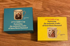 1973 & 1974 Child's Cup - Sister Berta Hummel Schmid Bros. Made In W Germany New
