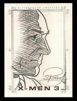 X-Men The Last Stand X3 SketchaFex Sketch Card by Scott Rosema - Professor X