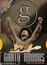 GARTH BROOKS THE ENTERTAINER  - 5 DVD SET - LIMITED EDITION OVER 7 HOURS * NQR