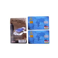 Schwimmende Kreditkarte Close Up Magic Trick Magician Spielzeug Bühne.