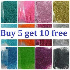 Glitter Nail Art Eye Shadow BUY 5 GET 10 FREE Tattoo Fine Powder Dust COSMETIC