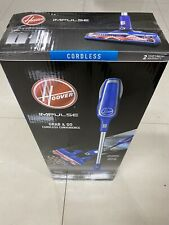 New Hoover Impulse Blue Stick Vacuum Cleaner Cordless Factory Sealed