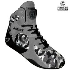 Otomix STINGRAY ESCAPE Grey Camo Fitness Bodybuilding MMA Box Kampf Schuhe Grau