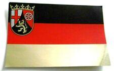 Souvenir-Aufkleber Rheinland-Pfalz Landeswappen Deutschland Flagge 80er Oldtimer