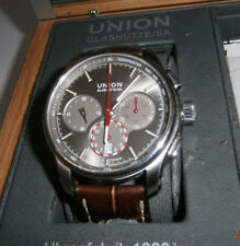 Glashütte Union,Herren-Chronometer,100M,,Box,Papiere,top!!