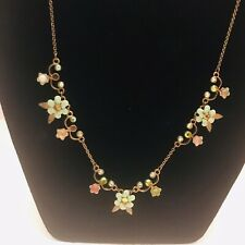 Michal Negrin Lovely Flowers Necklace with Great Delicate Colors J6449