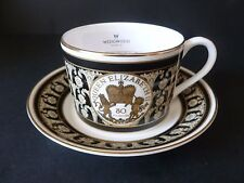 Wedgwood * QUEENS 80th BIRTHDAY * SAMPLE * Cup & Saucer * NEW & UNUSED *