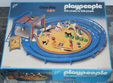 MARX PLAYPEOPLE PLAYMOBIL BOXED SET 1795 100% COMPLETE CIRCUS RING SET