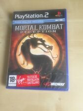 Game mortal kombat deception for ps2 new sealed