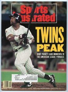 SI: Sports Illustrated October 21, 1991 Kirby Puckett, Baseball, Minnesota Twins