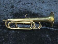 Slingerland Single Valve Bugle Ser#104836 Parts/Repair/Decorator Piece