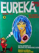 EUREKA n°2 1975 ed. Corno con adesivi - 30 anni di ANDY CAPP  [G321]