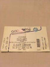 Calvin Harris Concert Ticket Stub Birmingham 2009