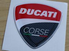 Ducati Corse 2010 Style 3D Domed Badge WSB Moto GP 60mm