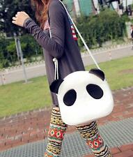 Women Lovely Panda PU Leather Hobo Purse Handbag Shoulder Bag Tote lsusls EC