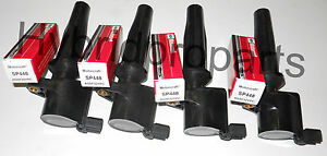 2010-2013 Ford Transit New Ignition Coils 4pcs&4pcs Motorcraft Spark Plug SP541A