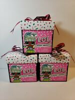 LOL Surprise Present Gift Box Series Sister Birthday Month Party Doll (3 Pack)