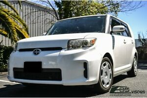 For 08-15 Scion xB IN-CHANNEL Style Smoke Tinted Side Vents Rain Guard Deflector