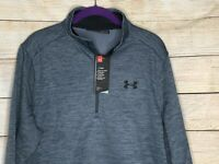 Under Armour UA ColdGear Men's Pullover Sweatshirt 1/4 Zip Medium NWT