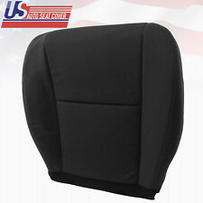 2010 - 2014 Chevy Silverado Passenger Bottom Replacement Cloth Seat Cover Black