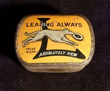 Gen. Vintage Perophone British Gramophone Steel Needle Tin Dog Advertising 40's
