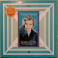 TAYLOR DAYNE Laserdisc Twist of Fate The Smash Hit Music Videos Rare JAPAN LD