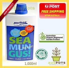 Seamungus Organic Fertiliser - Health Tonic and Planting food - 1000ml