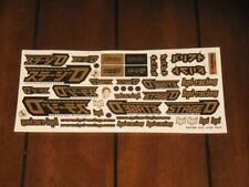 HPI Racing 9976 Stage D Drift Decal Sticker Sheet Set RC H.P.I Vintage Tamiya