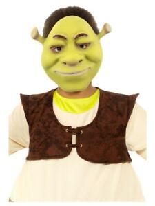 Officially Licensed Shrek Mask Fancy Dress Item