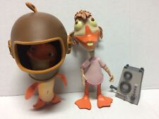 Disney Store Chicken Little Action Figures Abby Mallard Fish Out Of Water