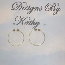 THE NEW GOLD TONE  NATURAL LOOK  NON PIERCING NIPPLE RING JEWELRY