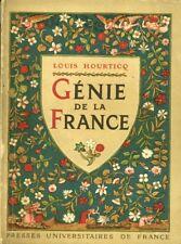 Livre ancien génie de la France Louis Hourticq éditions presses universitaires