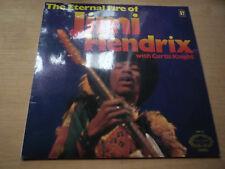 The Eternal Fire of Jimi Hendrix with Curtis Knight 1971 Hallmark Vinyl LP